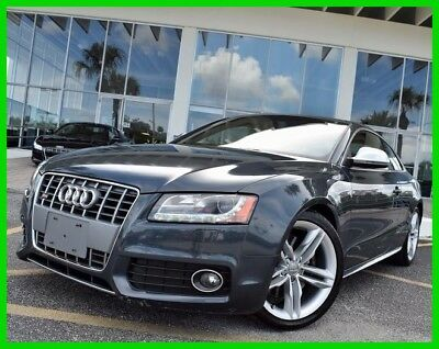 2009 Audi S5 4.2 2009 4.2 Used 4.2L V8 32V Automatic quattro Coupe Moonroof Premium