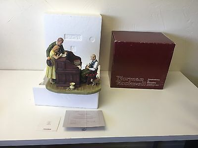 """Gorham Fine China Norman Rockwell Inspired""""the Marriage License""""figurine Rw-38"""
