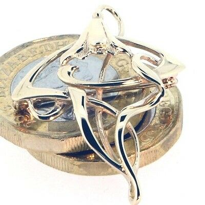 Elegant Floral style 9ct Gold Brooch, Fully UK Hallmarked so buy with confidence