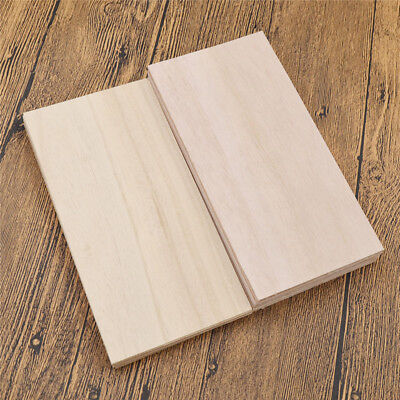 10Pcs Paulownia Wood Sheets Plate for DIY House Ship Aircraft Model Hand Craft