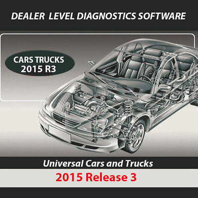 2015 R3 Diagnostic Software and activation Dealer level