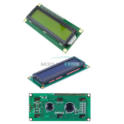 16X2 1602LCD Blue/Yellow HD44780 Character Display Module 5V for Arduino