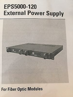 PELCO EPS5000-120 External Power Supply For Fiber Optic Modules
