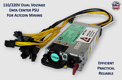 Power Supply for Antminer L3+ (110V) or Antminer D3/L3+/A741 (220V)