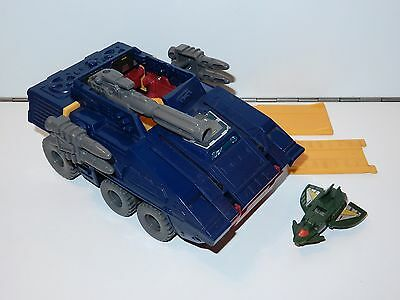 Transformers G1 Micromasters Groundshaker 100% Complete 1989 Hasbro
