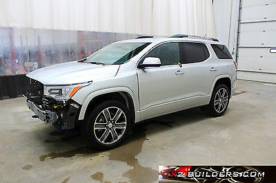 2017 GMC Acadia Denali GMC Acadia Denali, 3.6L Salvage Title, Repairable, Rebuildable #193676