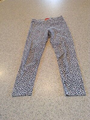 Kate Mack Cheetah Print Leggings Girls Size 6X