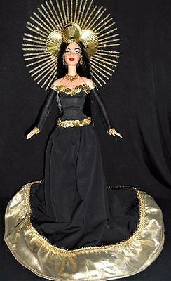 Solar Eclipse 2017 ~ Barbie Doll ooak Binary Sun Moon Space rare Dakota's Song