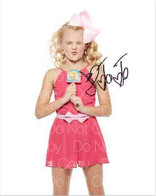 JoJo Siwa 3 signed Dance Moms 8X10 photo picture poster autograph RP