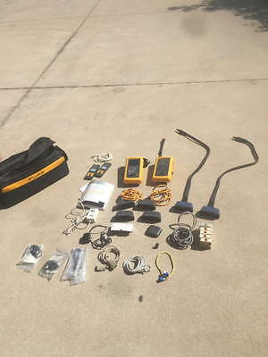 Fluke Networks DSP-4100 Cable Analyzer & DSP-4100SR Smart Remote, Extras, CASE