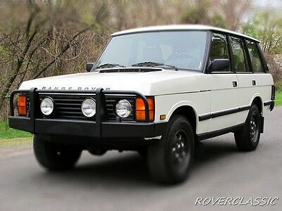 1991 Land Rover Range Rover County 1991 LAND ROVER RANGE ROVER ... GREAT DIVIDE EDITION