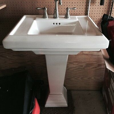 vintage porcelain pedastal sink and faucet Annapolis, MD