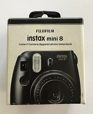 New Fujifilm - instax mini 8 Instant Film Camera - Black