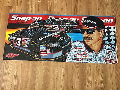 2001 Sam Bass Dale Earnhardt Snap On Decal Sticker 19 X 43 Free Ship