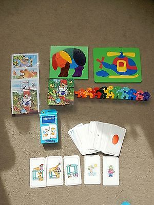Toddler Activity Educational toys Wooden puzzles, Blocks, School Readiness Cards