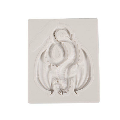 Dragon Silicone Mould Cake Moulds Decor Sugarcraft Gum paste Clay Tools