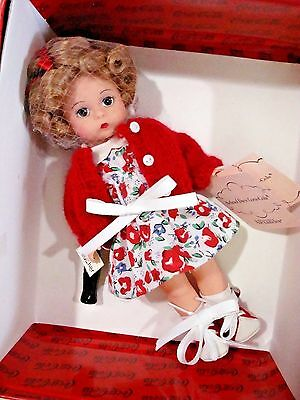 """SCHOOL DAYS COCA-COLA Madame Alexander  8"""" Doll in LUNCH BOX 28275 from 2001 MIB"""