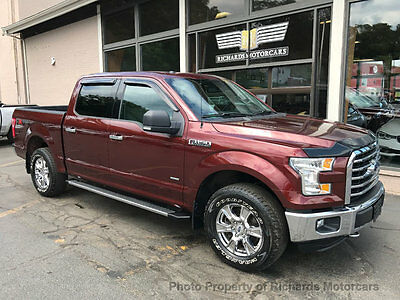 "2015 Ford F-150 4WD SuperCrew 145"" XLT Ecoboost Engine  18"" Wheels  Tow Package  Running Boards  Bed Liner  Ford SYNC w"