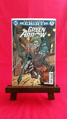 Green Arrow Vol 6 #1 Rebirth Ongoing Cover B Neal Adams Variant