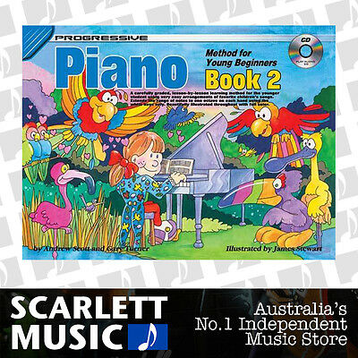 Progressive Piano Method For Young Beginners Book 2 ( Two / Second ) *WITH CD*