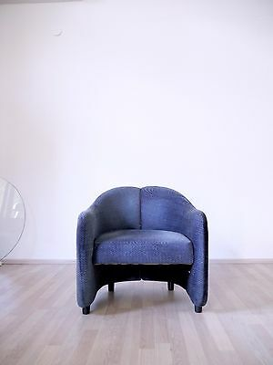 1of6 VINTAGE MODERNIST ITALIAN 1960s ARMCHAIRS BY EUGENIO GERLI FOR TECNO