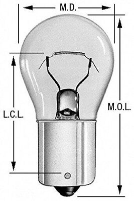 Back Up Light Bulb Wagner Lighting 1141