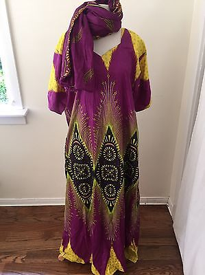 Indian Kaftan Caftan Maxi Burning Man Festival Unisex