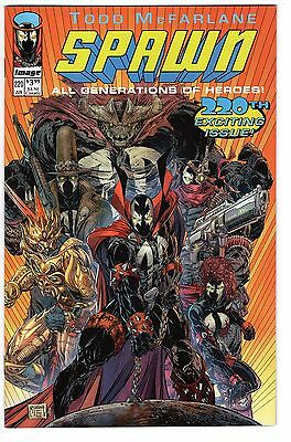 SPAWN # 220 Cover C - Youngblood #1 Homage / Todd McFarlane cover / Rare