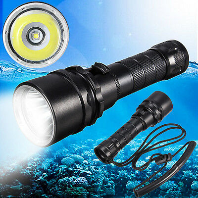 85000LM L2  LED Diving Flashlight Waterproof 18650 Charger Torch Lamp Light