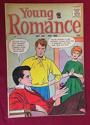 Young Romance Vol 15 #1 Dec 61-Jan 62 VG (tape inside)