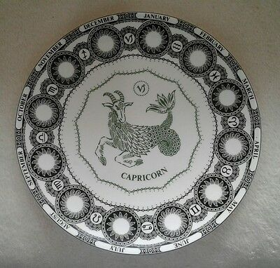 "ZODIAC by ROYAL DOULTON ""Capricorn"" Bone China Plate"