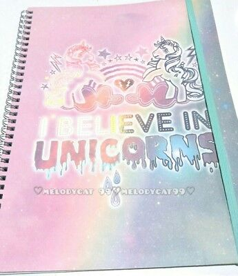 """""""Typo"""" A4 Collegiate Notebook 120 Lined Pages - My Little Pony, Unicorns"""