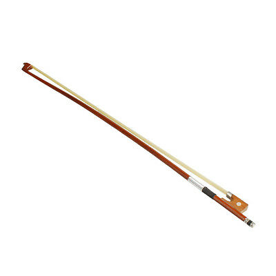 Top Quality 1/8 Arbor Horsehair Violin Bow Bright Sound