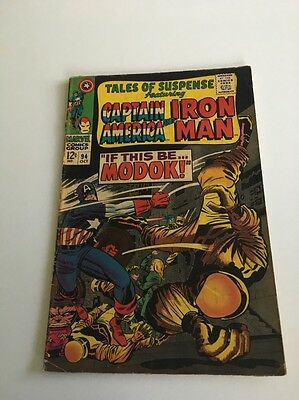 Tales Of Suspense # 94 1st Modok Captain America