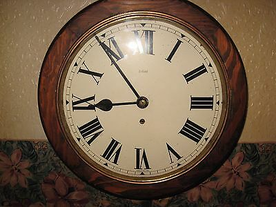 smith round dial wall clock working well,,