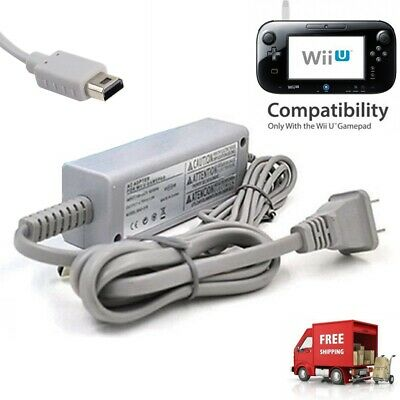 AC Adapter Charger Power Supply Charging Cable Cord for Wii U Gamepad