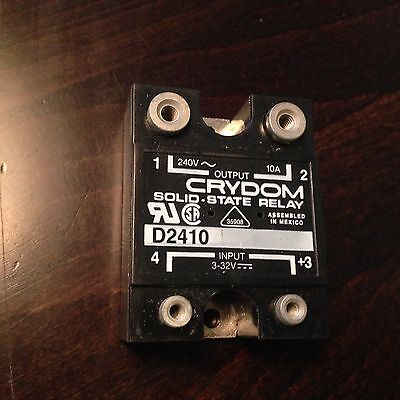 CRYDOM, D2410, Solid State Relay, 240V ~ 10A