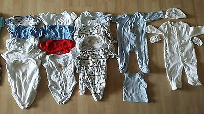 Large job lot / bundle baby boy clothes,  hats, baby grows 3-6 months