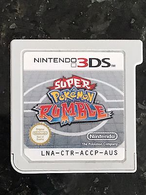 Super Pokemon Rumble - Nintendo 3DS - PAL AUS - Free Shipping - Cart Only