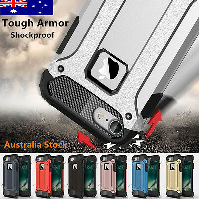 Tough Armor Rugged Case Heavy Duty Shockproof TPU Cover For iPhone X 8 7 6s plus