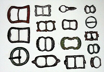Antique Buckle Collection