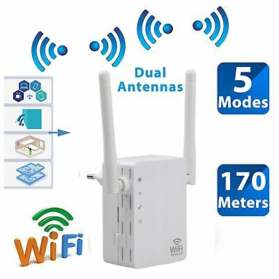 300Mbps Wireless-N Range Extender WiFi Repeater Signal Booster Network Router GT