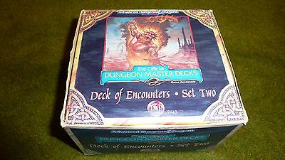 Dungeon Master Decks - Deck of Encounters - Set Two - AD&D Dungeons Dragons