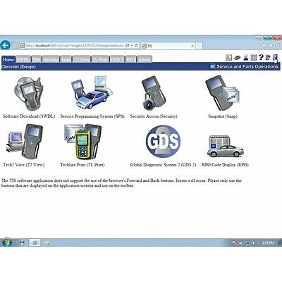Chevrolet (Europe) GlobalTIS 09.2011 and License Key for Activation