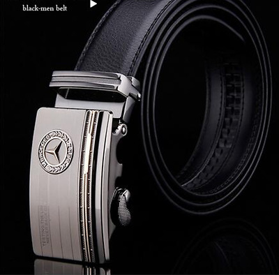 Mercedes Leather Belt Mens Accessories Stylish Car AMG Black Brown Jeans New