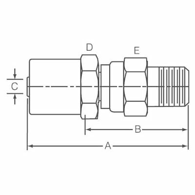 Dayco 110711 Adapters