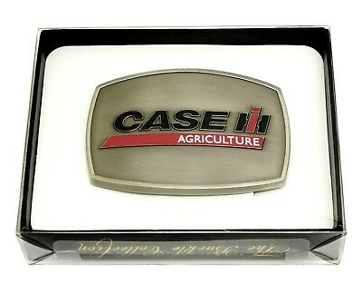 Case Agriculture Belt Buckle IH Tractor Farmer Spec Cast Officially Licensed