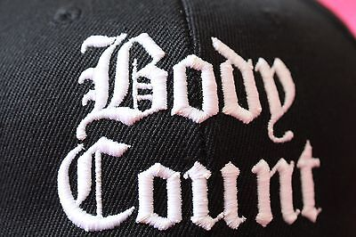 Official BODY COUNT,band members WEAR hat,cap,snapback,brand new,ICE T,syndicate
