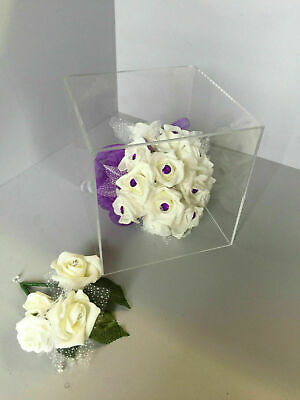 Acrylic Display Cubes 5 Sided Open 1 End 100mm