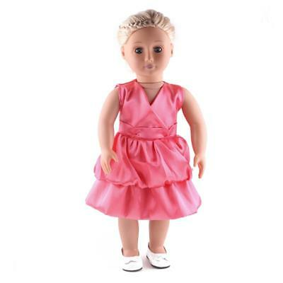 18inch Cute Dolls Party Dress for 18'' American Girl My Life Journey Doll